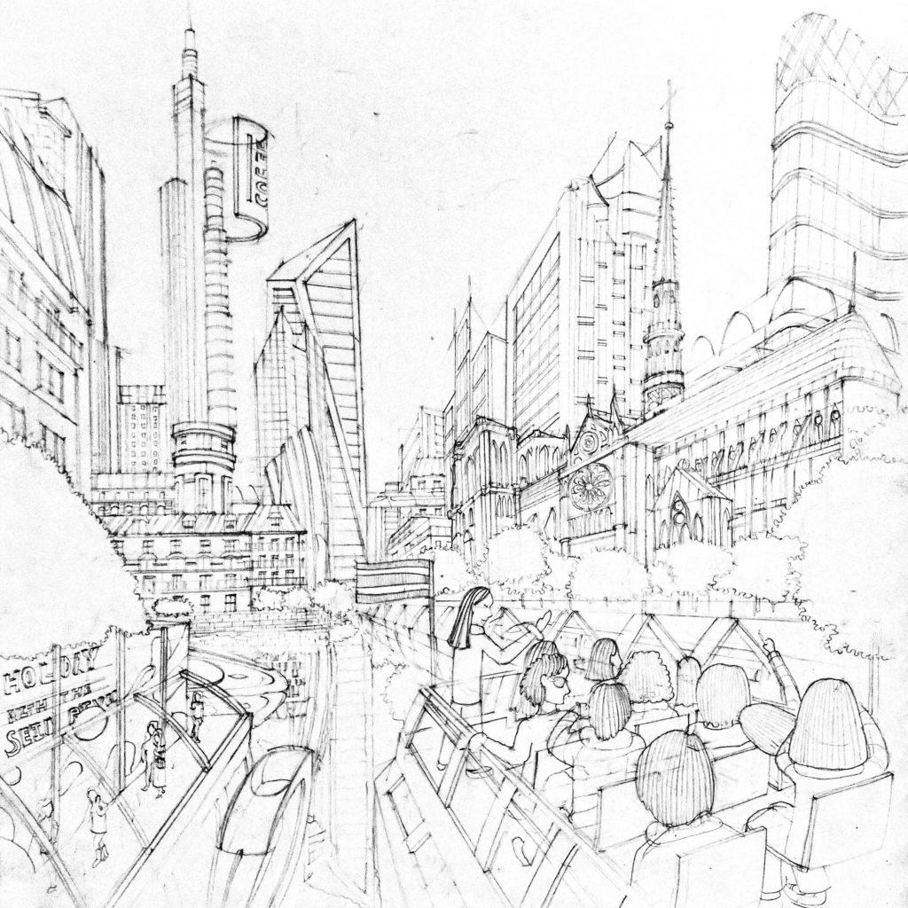 ติว สถาปัตย์ และ Pat 4 ข้อสอบ Perspective